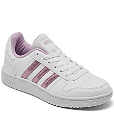 Essentials Big Girls Hoops 2.0 Casual Sneakers from Finish Line