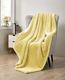 Avery Pure Plush Throw Blanket