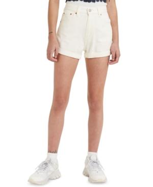 1980s Clothing, Fashion | 80s Style Clothes Levis Denim Mom Shorts $49.50 AT vintagedancer.com