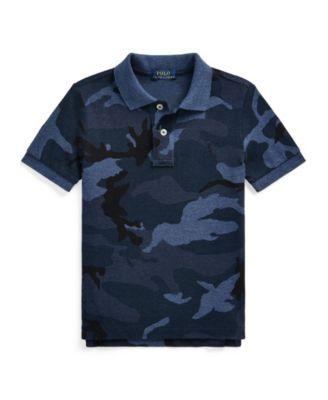 폴로 랄프로렌 Polo Ralph Lauren Little Boys Camo Cotton Mesh Polo Shirt
