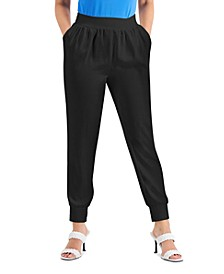 Petite Tapered Joggers, Created for Macy's