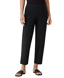 Organic Lantern Ankle Pants, Regular and Plus Sizes