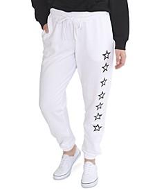 Plus Size Graphic Jogger Pants