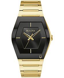 Men's Futuro Gold-Tone Stainless Steel Bracelet Watch 40mm