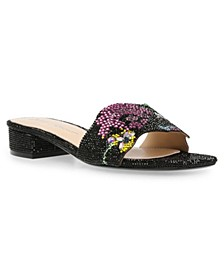Women's Lins Block Heel Slide Sandals