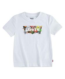 Little Boys Nature Logo T-shirt
