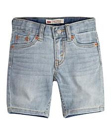 Little Boys 502 Regular Taper-Fit Denim Shorts