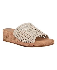 Women's Karah Slip-On Wedge Sandals