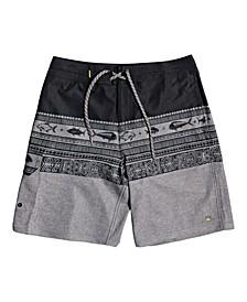 Men's Angler Triblock Beach Shorts