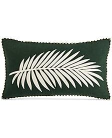 "Palm Frond 14"" x 24"" Decorative Pillow"
