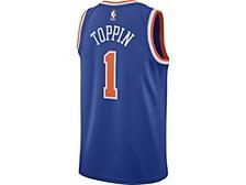 New York Knicks Men's Icon Swingman Jersey - Obi Toppin