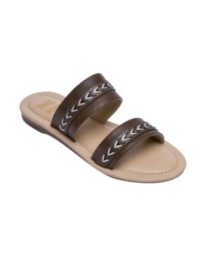 Women's Agatha Double Strap Slide Sandals Women's Shoes