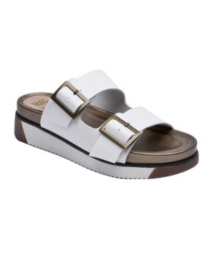 Women's Jessica Double-Buckle Footbed Sandals Women's Shoes
