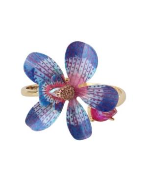 Orchid Bangle Bracelet