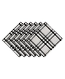 """Homestead Plaid Table Toppers, 20"""" x 20"""", Set of 6"""