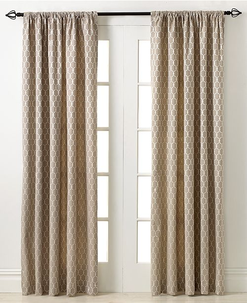 "Miller Curtains  Penwood 50"" x 84"" Panel"