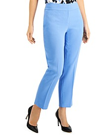 Ankle-Length Crepe Pants