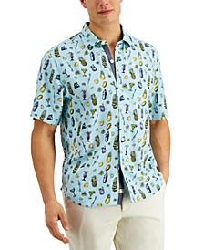 Men's Bahama Mixer Camp Shirt