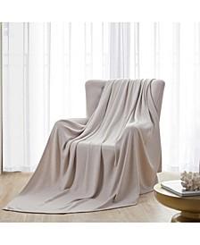 Luxurious Thermal 100% Cotton Blanket, King