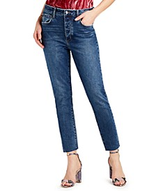 The Stiletto High-Rise Straight-Leg Jeans