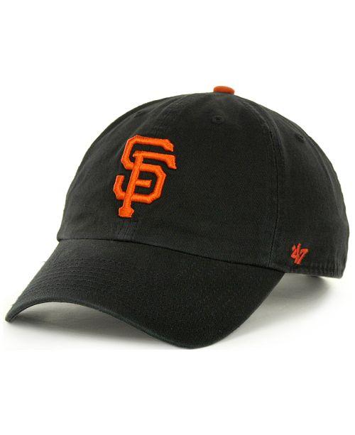 47 Brand San Francisco Giants Clean Up Hat - Sports Fan Shop By Lids ... c285f7518