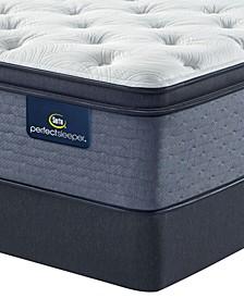 "Perfect Sleeper Cozy Escape 15"" Plush Pillow Top Mattress Set- Twin"
