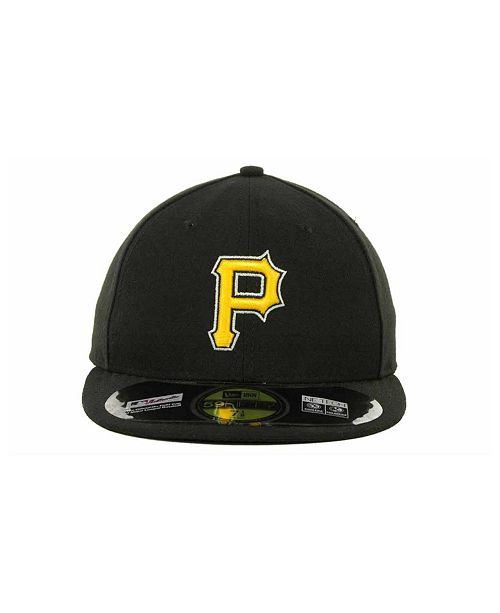 New Era Pittsburgh Pirates Authentic Collection 59FIFTY Hat - Sports Fan  Shop By Lids - Men - Macy s 30bfb5978f1