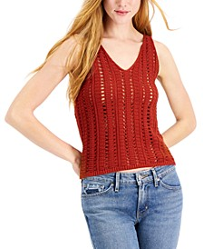 Cotton Sweater Tank Top, Created for Macy's
