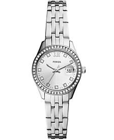 Women's Micro Scarlette Silver-Tone Bracelet Watch 28mm