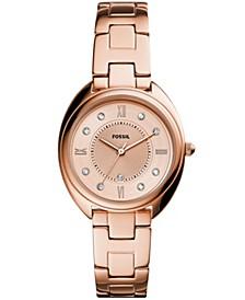 Women's Gabby Rose Gold-Tone Stainless Steel Bracelet Watch 34mm