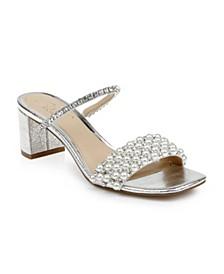 Orsen Embellished Slide Sandals