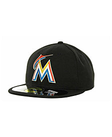 New Era Miami Marlins Authentic Collection 59FIFTY Hat