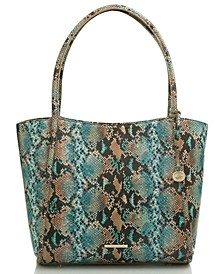 Bailee Lilyana Embossed Leather Tote