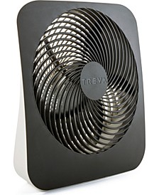 """10"""" Battery Powered Portable Fin Fan, with Adapter"""