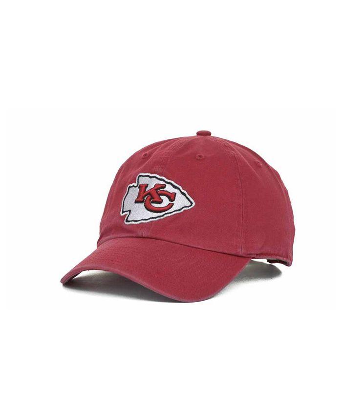 '47 Brand - Kansas City Chiefs Clean Up Cap