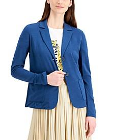 Drina Jersey-Knit Blazer