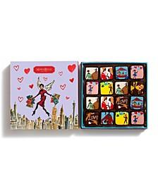 Izak Zenou Valentine's Day Dark Chocolate Ganache, 16 Piece