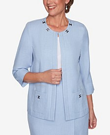 Plus Size French Bistro Jacket