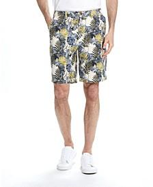 Men's Floral Printed Shorts