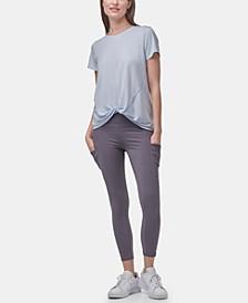 Women's Short Sleeve Twist-Front T-shirt