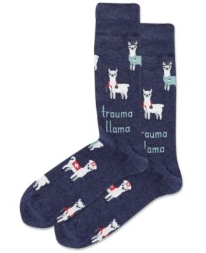 Men's Trauma Llama Crew Socks