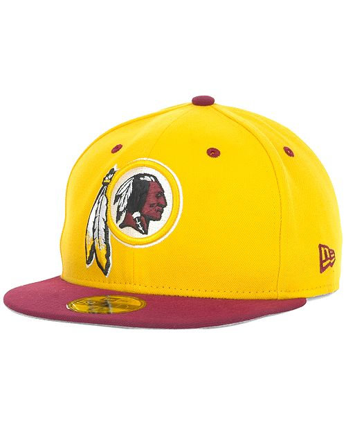 59662c205e5bef New Era Washington Redskins 2 Tone 59FIFTY Fitted Cap & Reviews ...