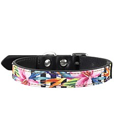 Tropics Dog Collar, Medium