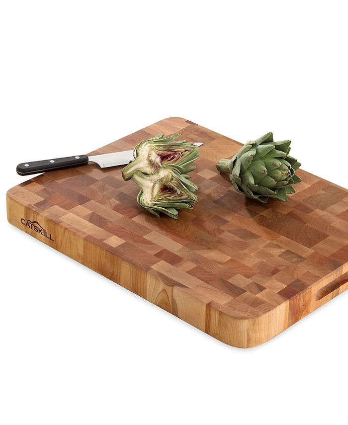 Catskill Craft - Low Profile Slab Professional Grade End-Grain Cutting Board