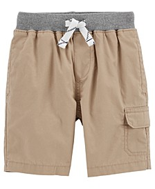 Baby Boy Pull-On Cargo Shorts