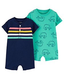 Baby Boy Cotton Rompers