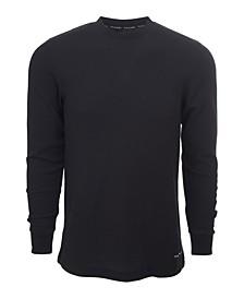 Men's Knit Underwear Waffle Thermal T-shirt