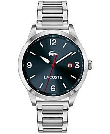 Men's Traveler Stainless Steel Bracelet Watch 43mm