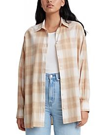 Quinn Cotton Plaid Shirt
