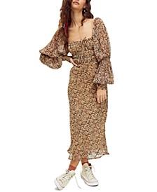 Aglow Midi Dress